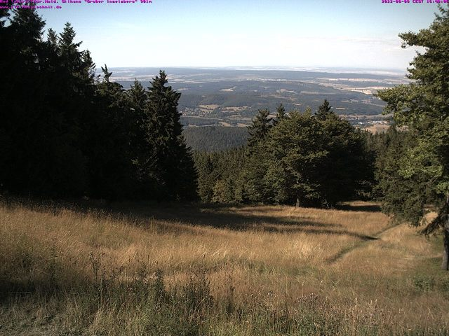 weather Webcam Großer Inselsberg