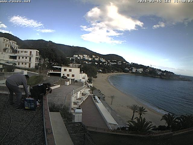 weather Webcam Palamós/Costa Brava