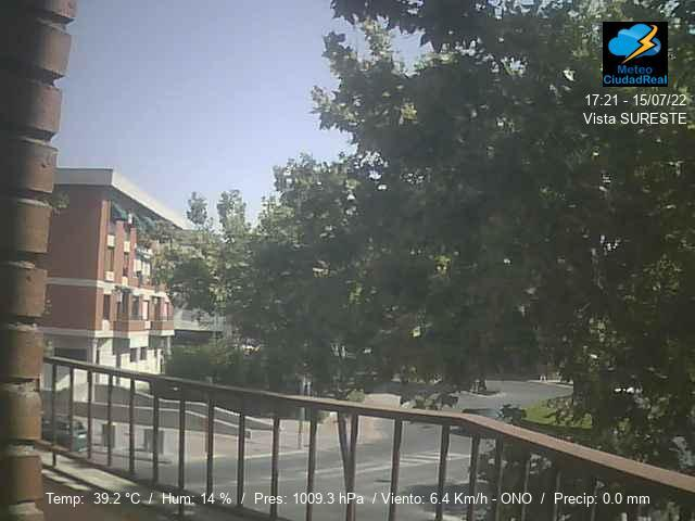 Wetter Webcam Alcázar de San Juan