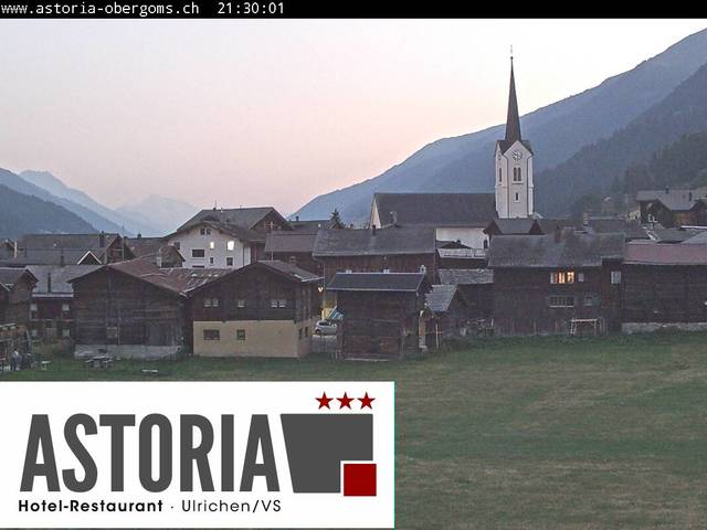 weather Webcam Ulrichen