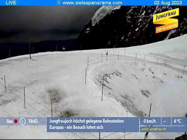weather Webcam Jungfraujoch