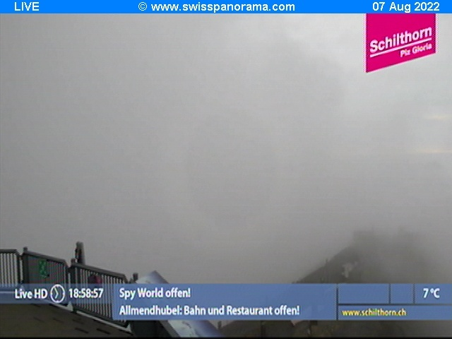 weather Webcam Schilthorn