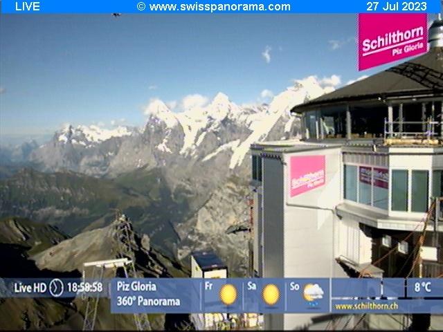 météo Webcam Schilthorn