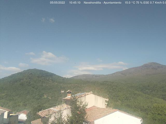 weather Webcam Navahondilla