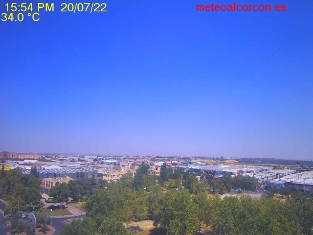 tiempo Webcam Madrid Getafe