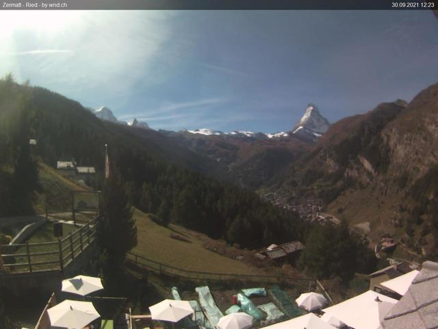 aura Webcam Zermatt