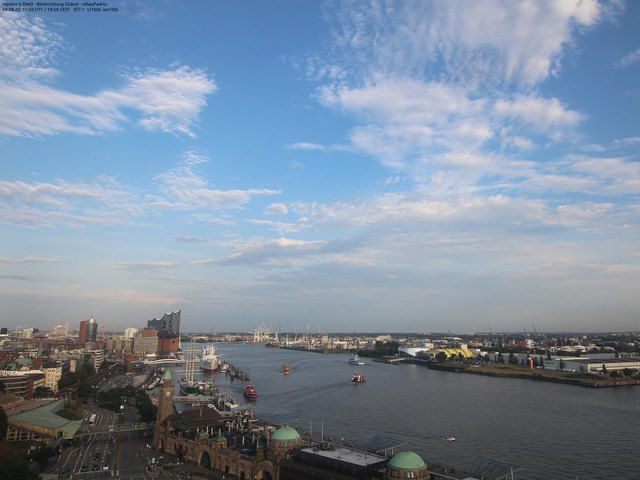 Wetter Webcam Hamburg Finkenwerder