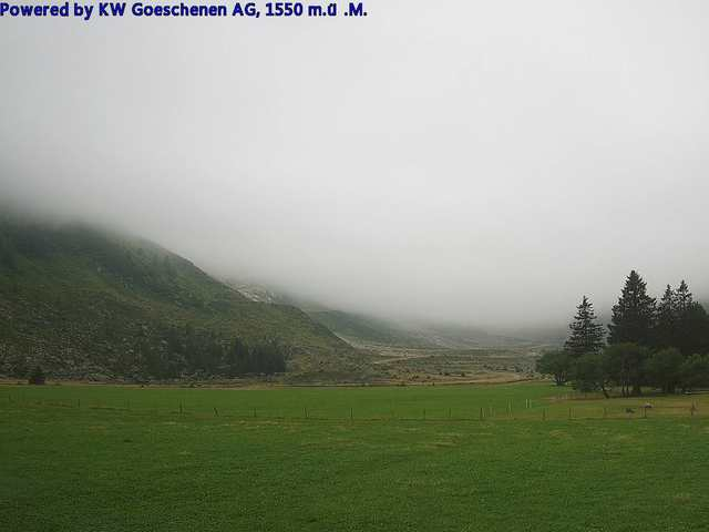 weather Webcam Göscheneralp