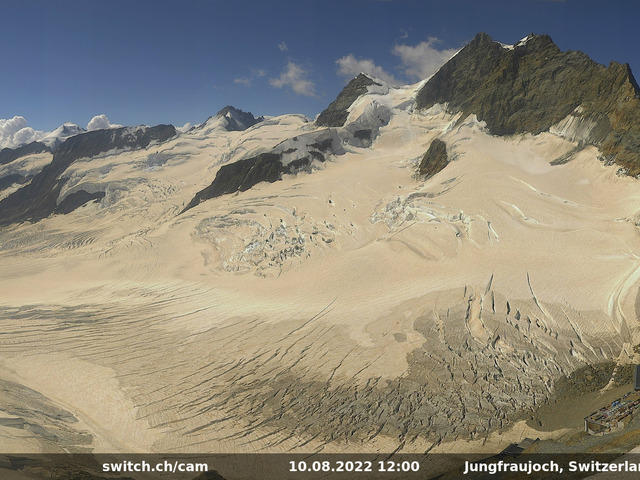 weather Webcam Jungfraujoch