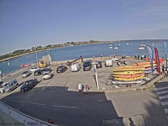 weather Webcam Ploudalmézeau