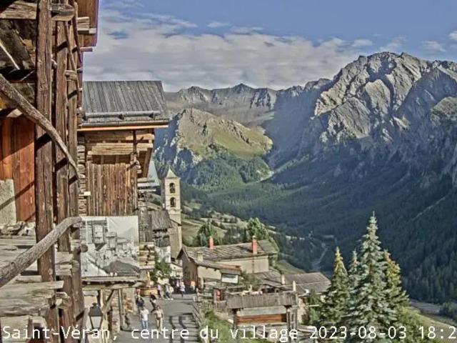 aura Webcam Saint-Véran