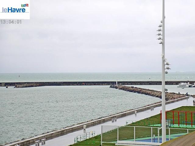 weather Webcam Le Havre