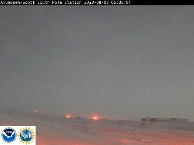 météo Webcam Amundsen-Scott South Pole Station