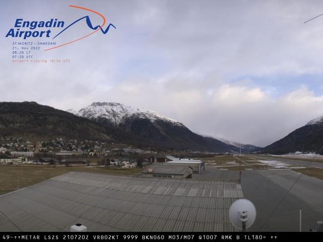 สภาพอากาศ Webcam Samedan