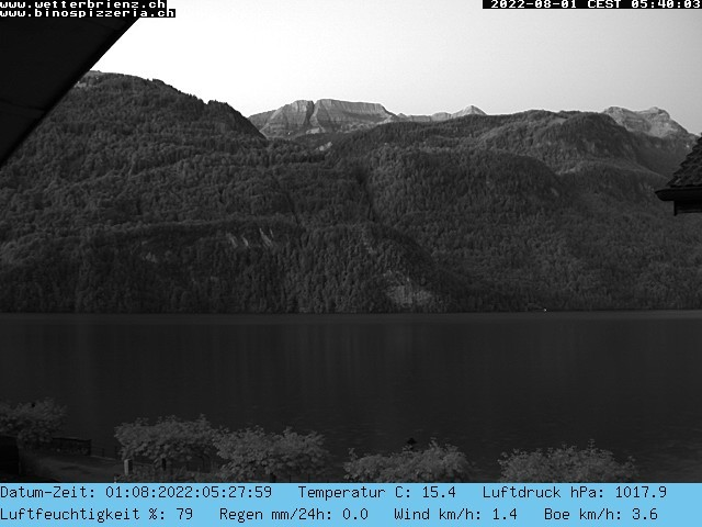 météo Webcam Brienz-Hofstetten