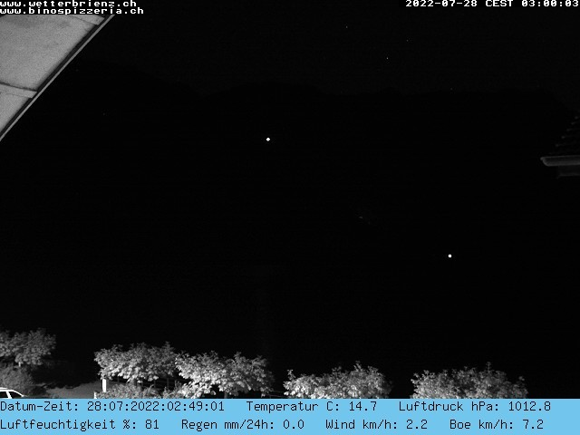 Wetter Webcam Brienz-Hofstetten