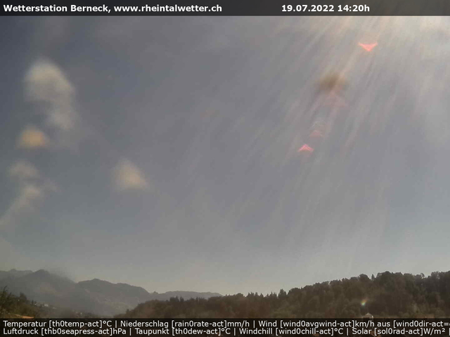 tiempo Webcam Berneck