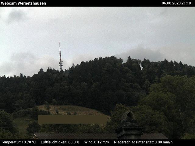 tiempo Webcam Wernetshausen