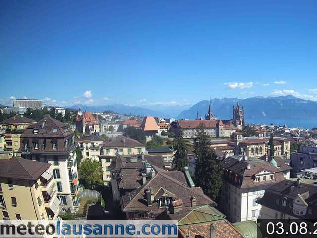 Wetter Webcam Lausanne Pully