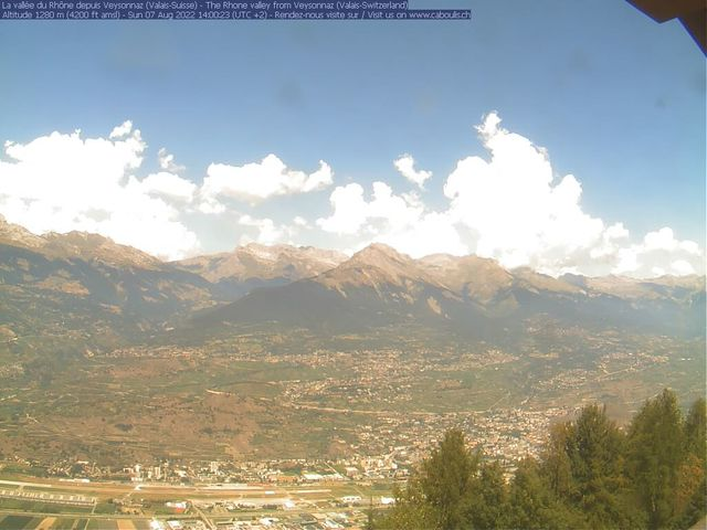 Wetter Webcam Veysonnaz