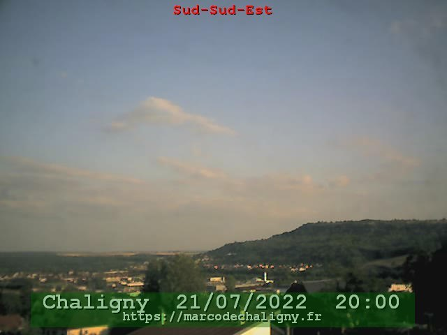 Wetter Webcam Chaligny
