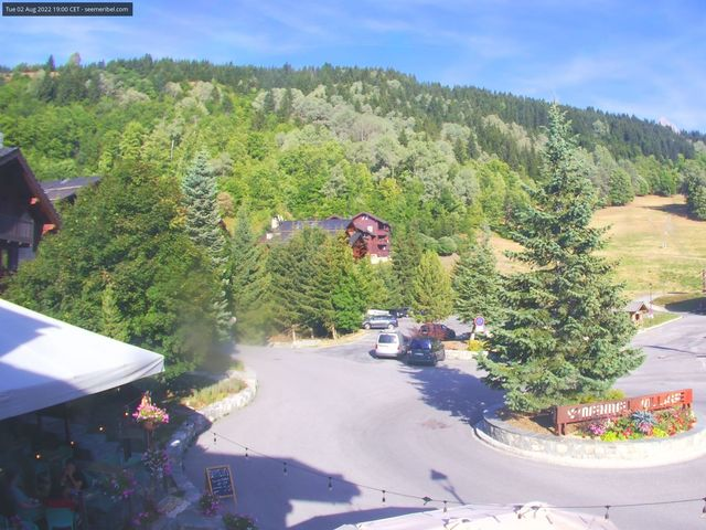 tiempo Webcam Meribel