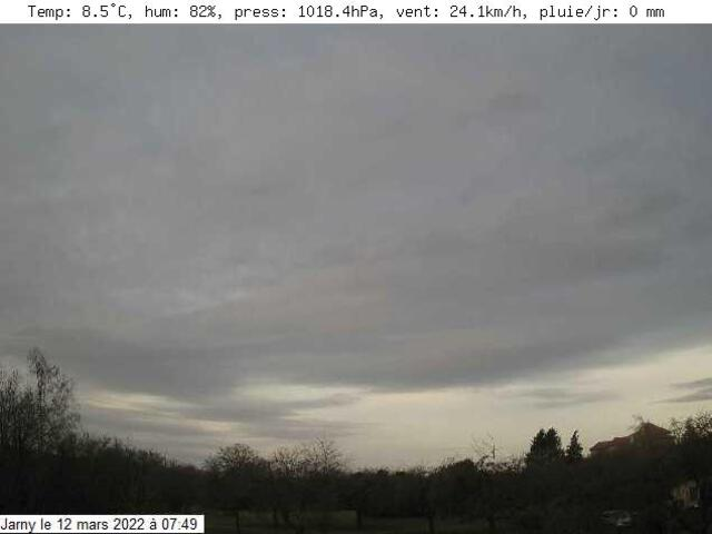 weather Webcam Jarny