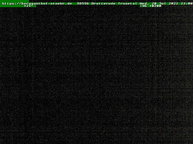 tiempo Webcam Brotterode